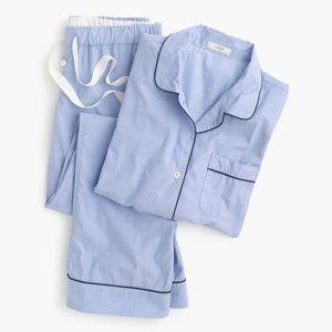J Crew Blue Pajama Set